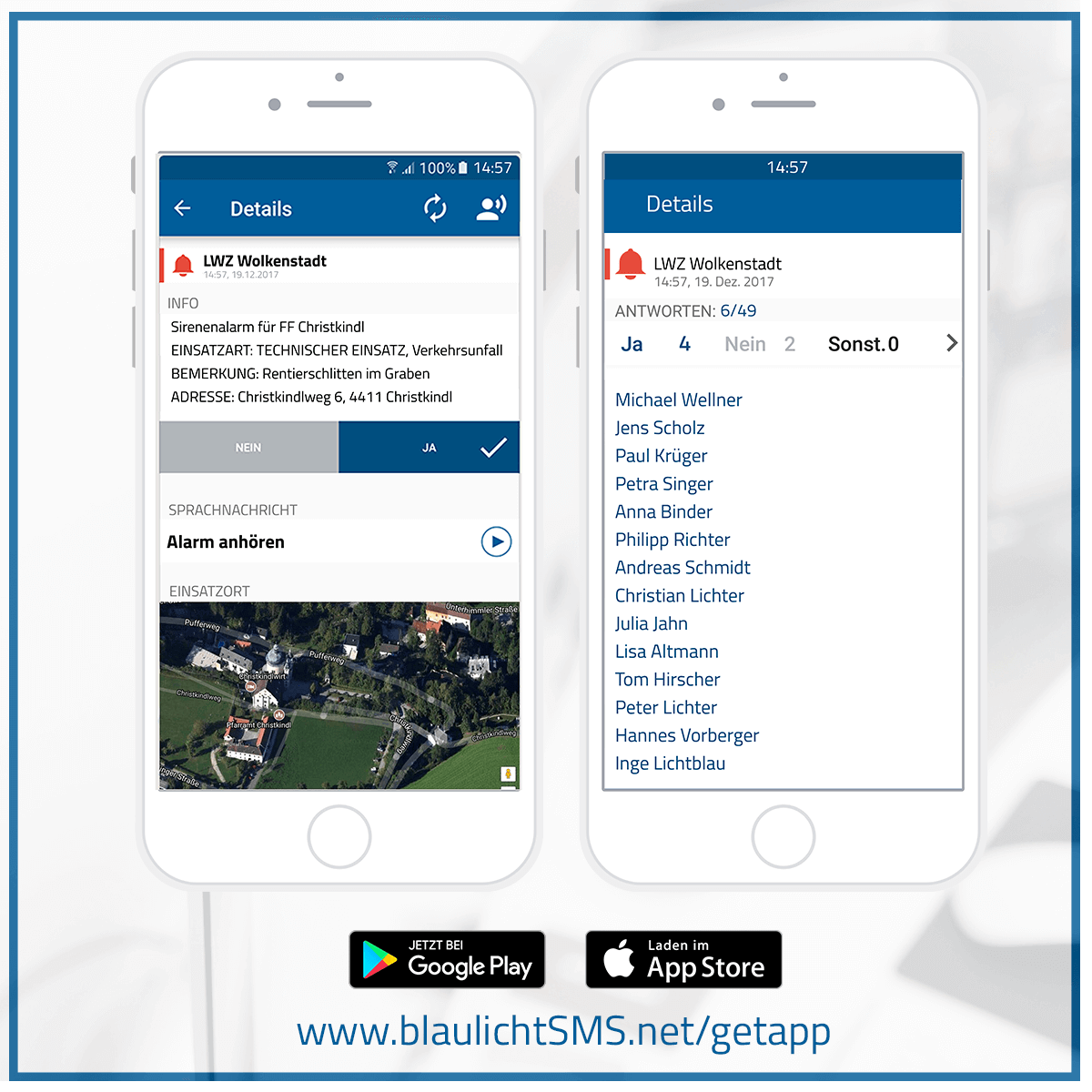 Android App Archives - blaulichtSMS